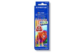 STAEDTLER NORIS JUMBO COLOURED PENCILS
